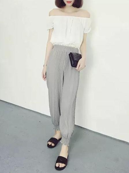 灰色裤子搭配什么颜色上衣 男生女生灰色裤子搭配